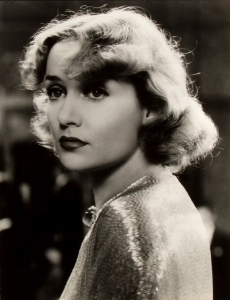 Carole Lombard, subject of Fireball: Carole Lombard and the Mystery of Flight 3 by Robert Matzen