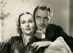 Carole Lombard and William Powell in My Man Godfrey.