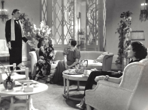 Carole Lombard and other cast members of My Man Godfrey, a motion picture described in Fireball: Carole Lombard and the Mystery of Flight 3 by Robert Matzen