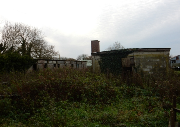 Remaining Tibenham air base crew quarters as explored just last week.