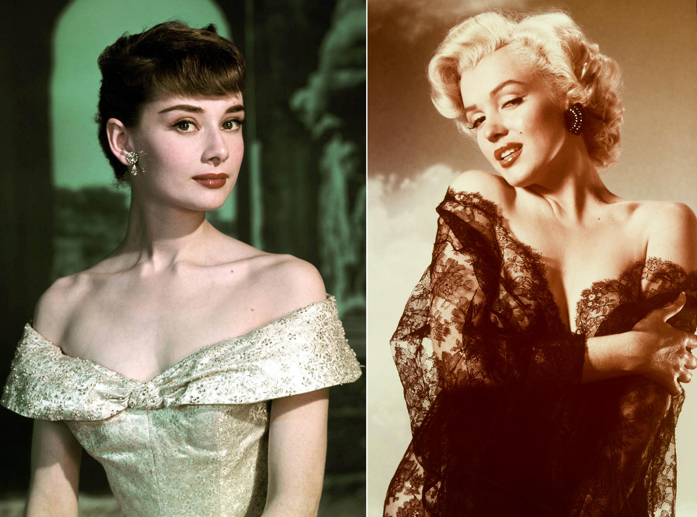 Audrey Hepburn Nude