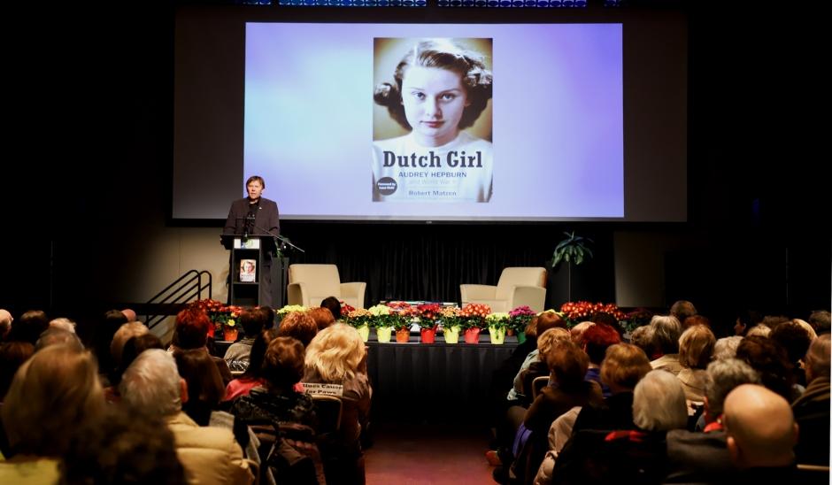 Dutch Girl: Audrey Hepburn and World War 2 by Robert Matzen